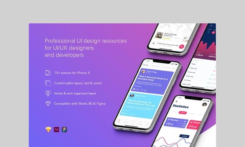 Prisma UI Kit by hangouts