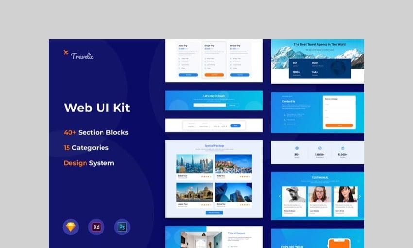 Web UI Kit by spacestudios