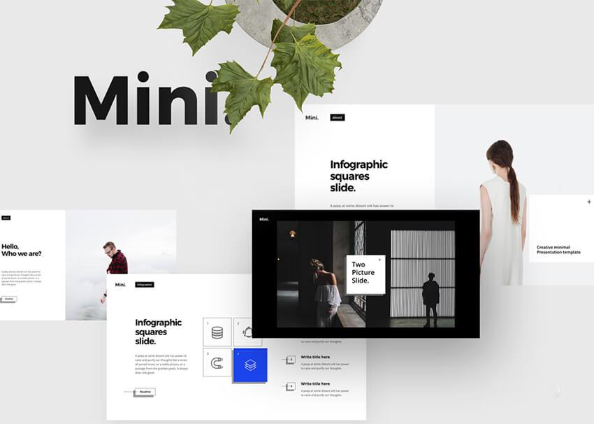Free Mini PowerPoint Template