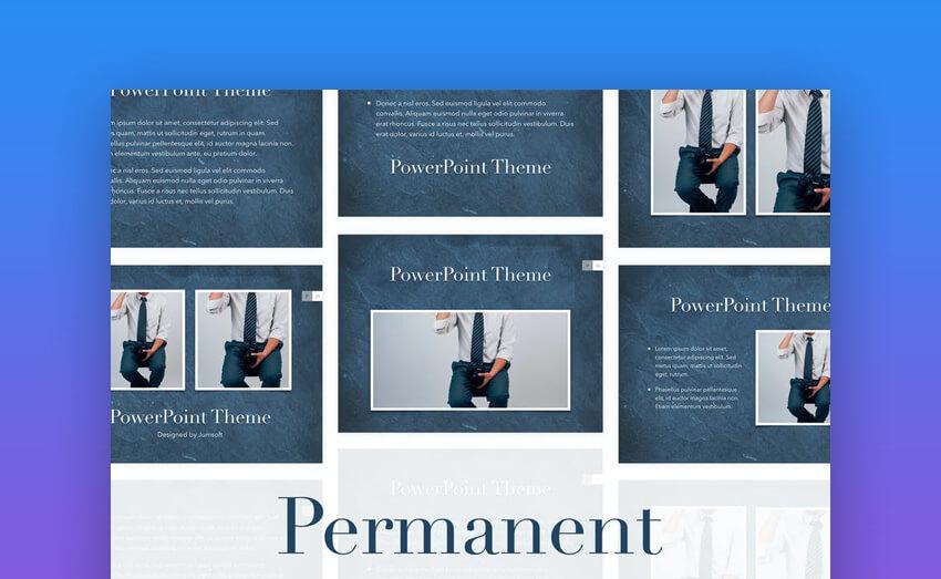 Permanent PowerPoint Presentation Template