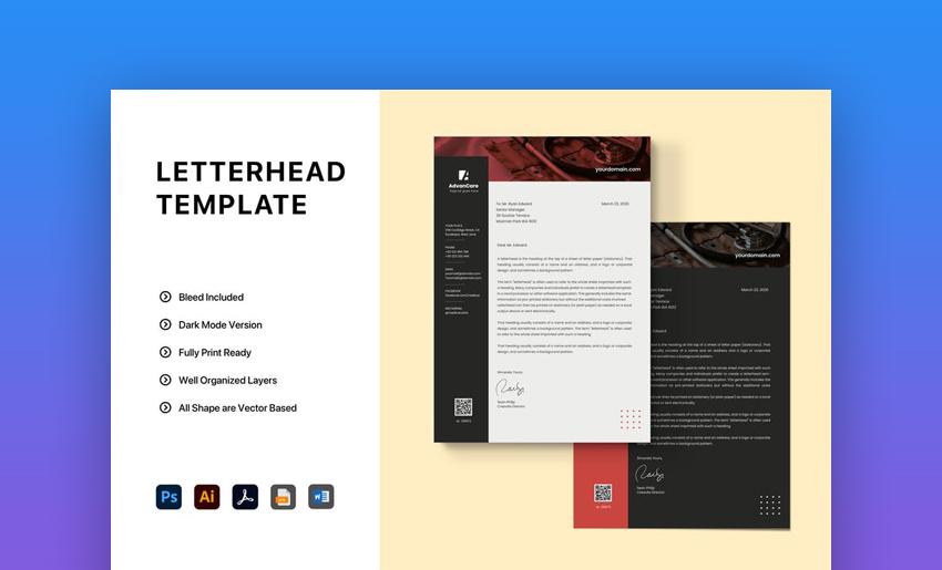 Versatile Microsoft Word Template
