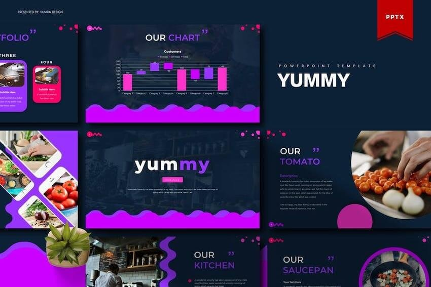 Yummy PowerPoint template