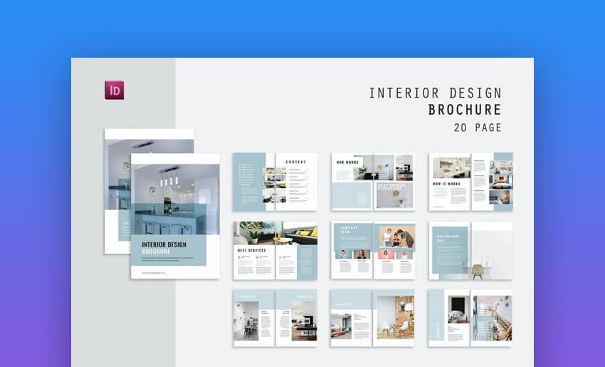 Interior Brochure For Word