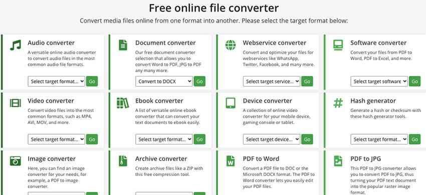 online convert website