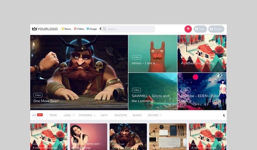 King - WordPress Viral WordPress Theme