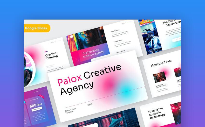 Palox Creative Google Slides Template