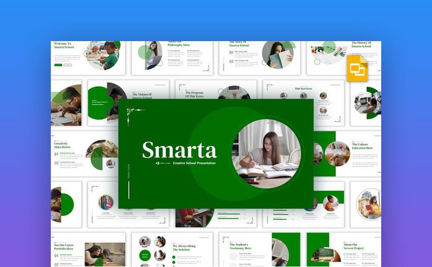 Smarta Creative Google Slides Template