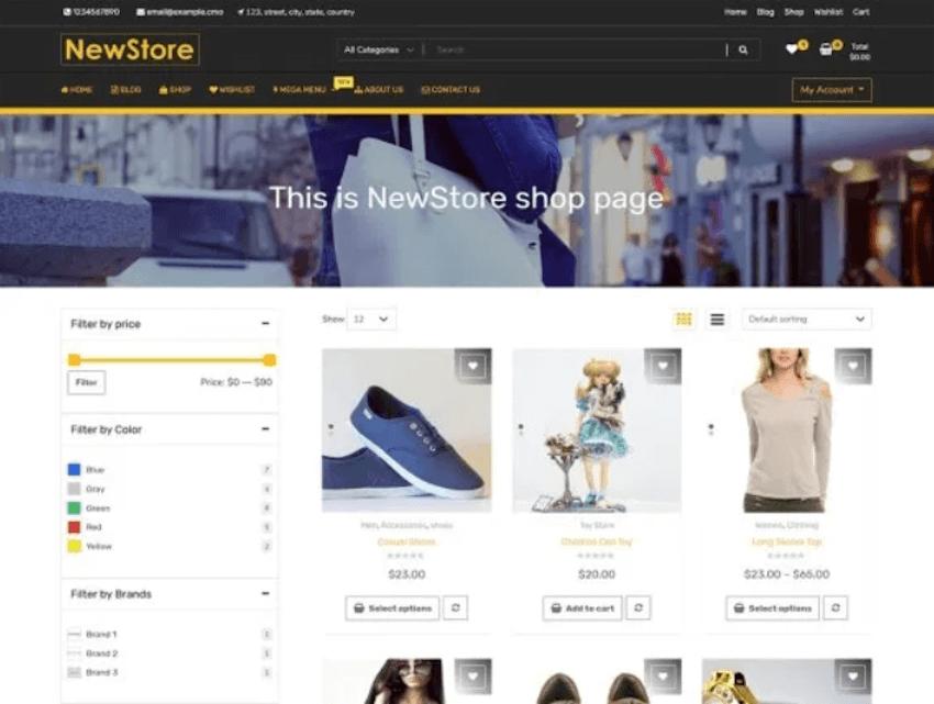 NewShop eCommerce - WordPress for Online Stores