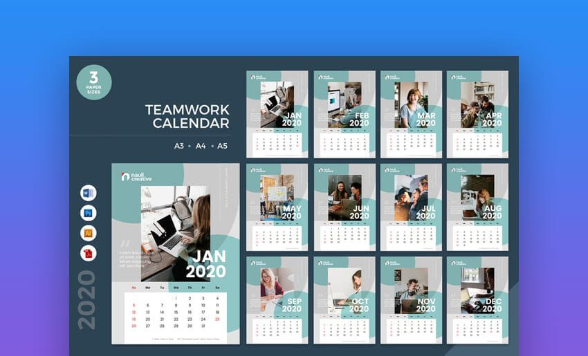 Teamwork Calendar