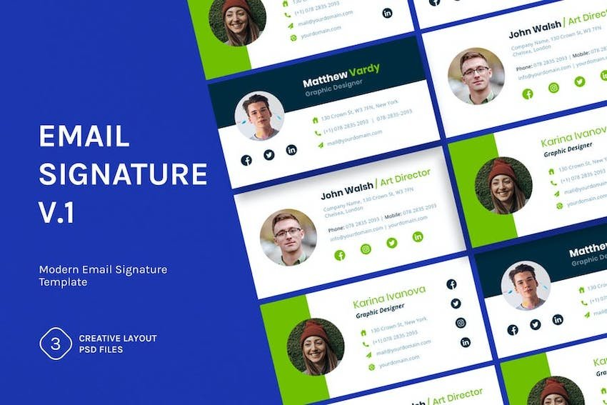 Email Signature v.1 Template