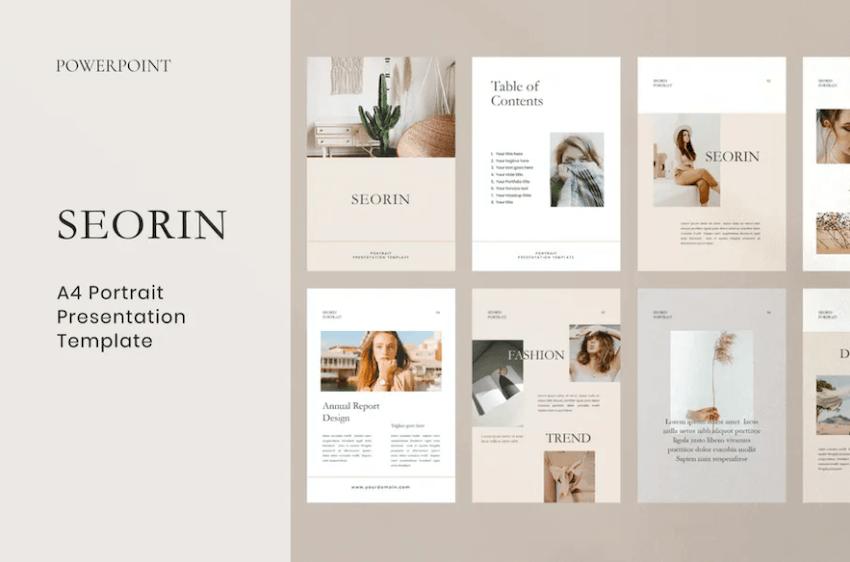Seorin PowerPoint template