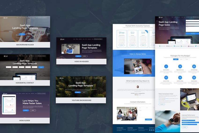 Lyra template on Envato Elements