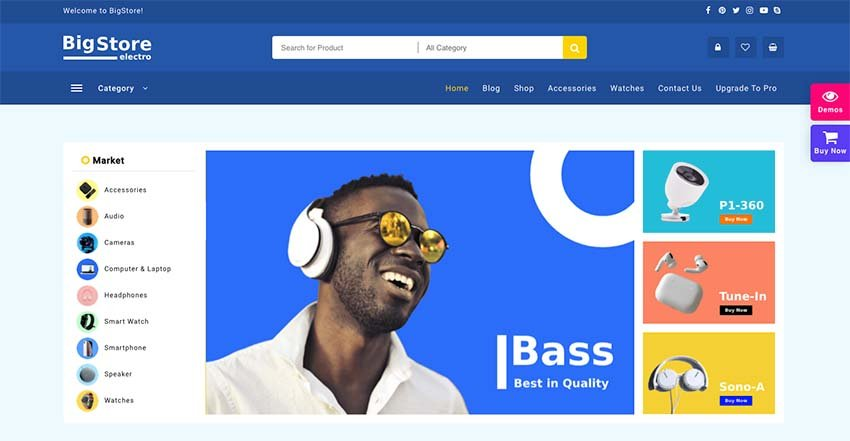 Big Store WooCommerce WordPress Theme