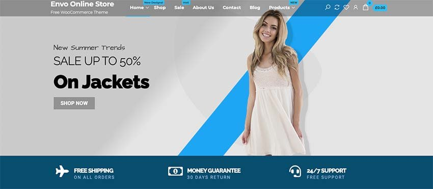 Envo Online Store