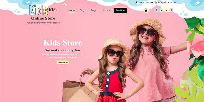 Kids Online Store