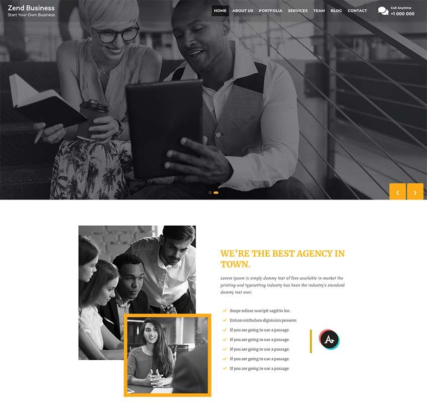 Appzend Business WordPress Theme for Business
