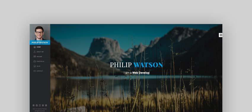 Watson CV Resume Template