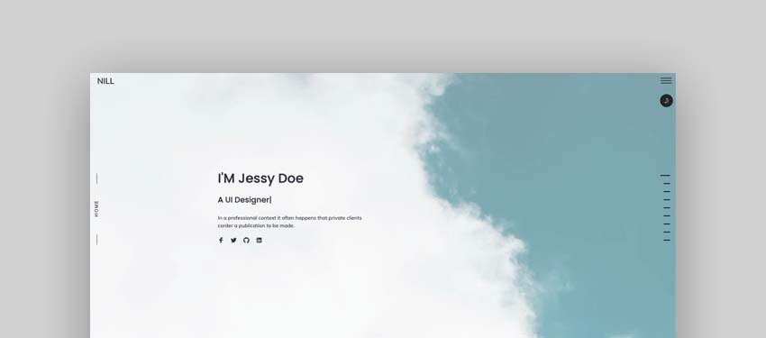 Nill - Bootstrap 4 personal, portfolio and resume Template