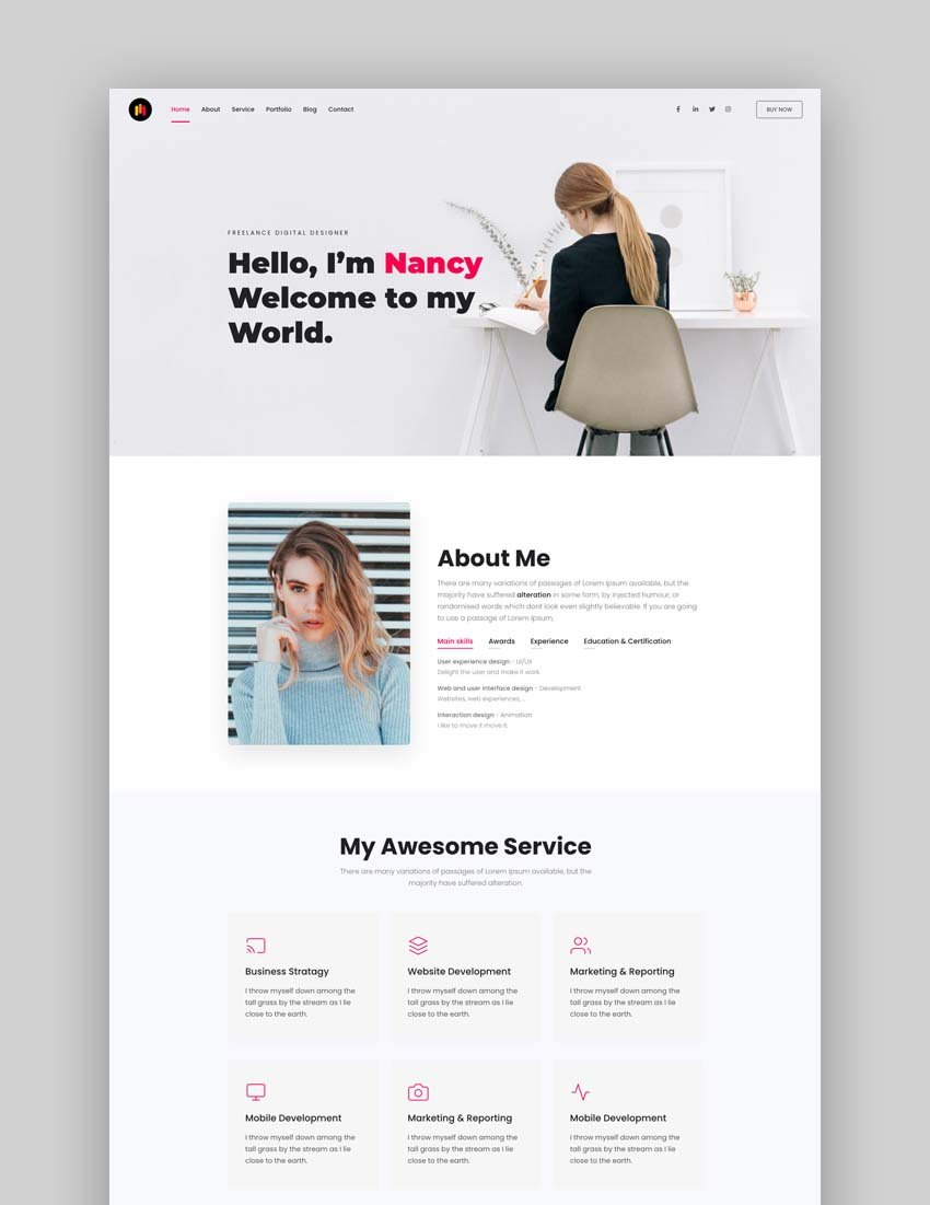 Trydo - Creative Agency and Portfolio Bootstrap Template