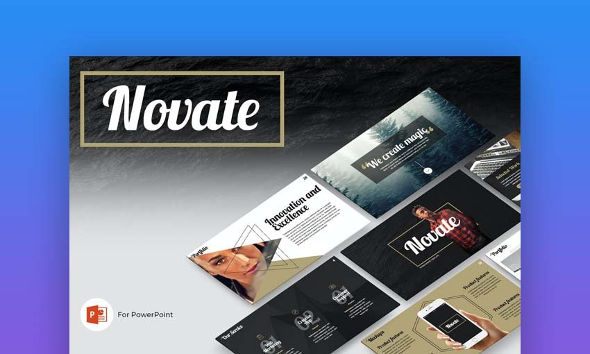 Novate PowerPoint Presentation Template