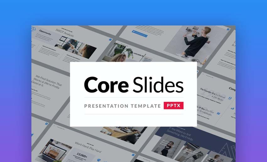 Core Slides - Simple PowerPoint Template