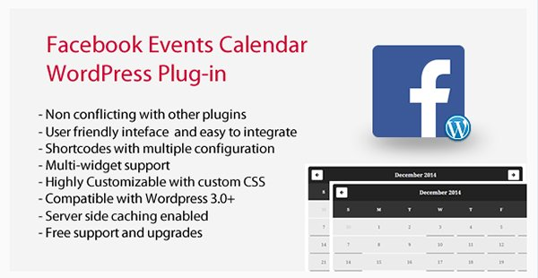 Facebook Events Calendar WordPress Plugin