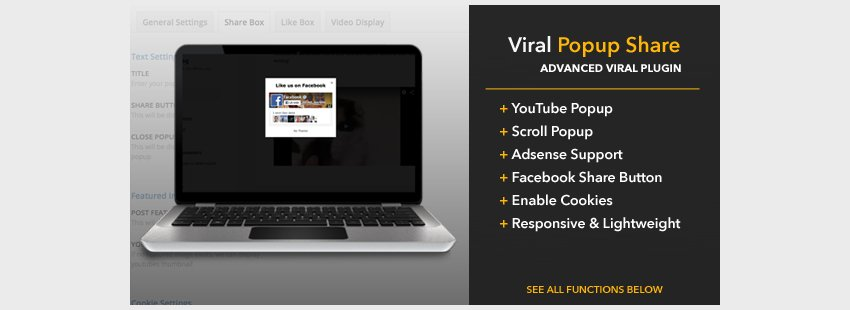 Viral Popup Share