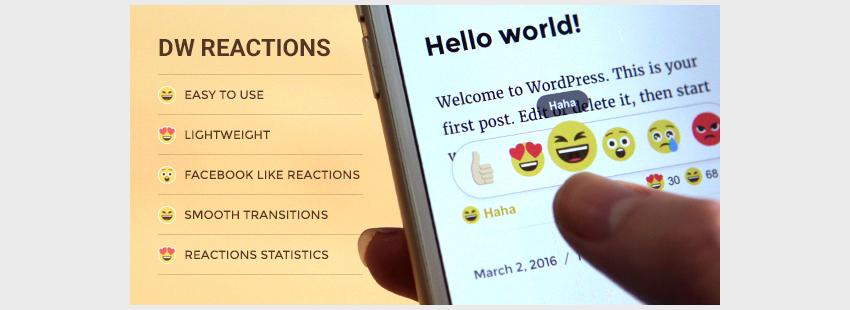 DW Reactions Pro - WordPress Plugin