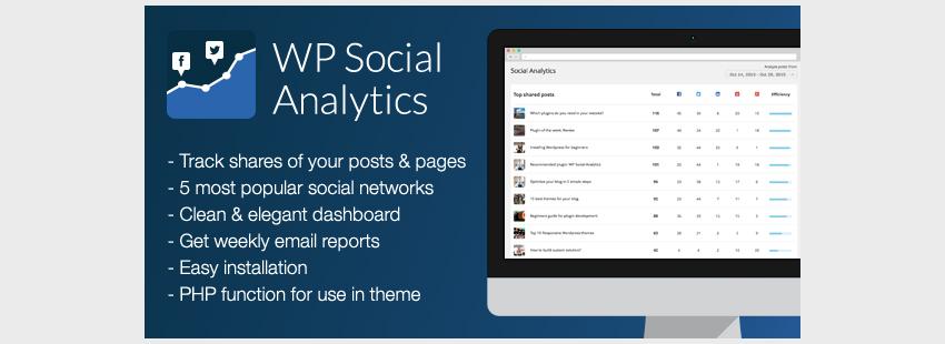 WP Social Analytics