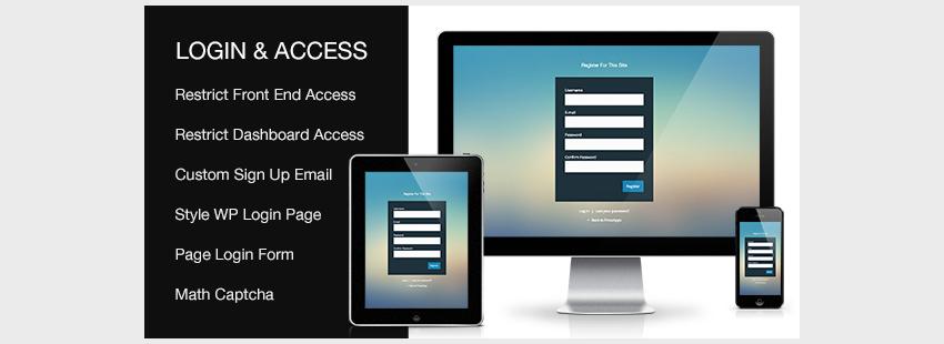 Custom Login Access WordPresss Plugin