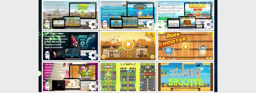 HTML5 Game Bundles