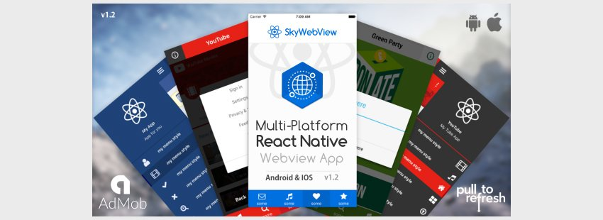 Sky Webview - Android IOS React Native App