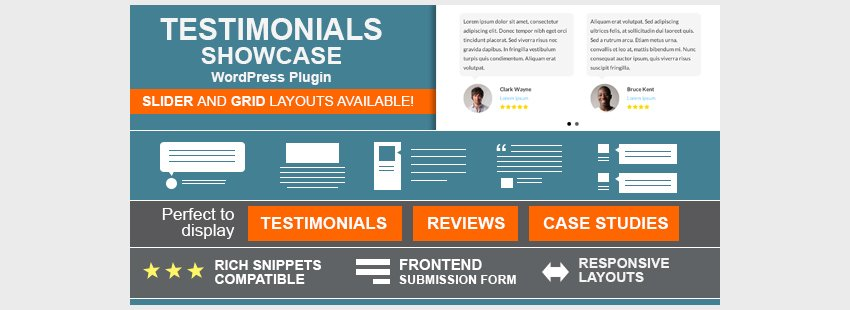 Testimonials Showcase - WordPress Plugin