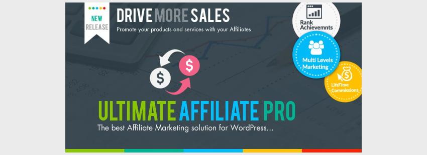 Ultimate Affiliate Pro  - Plugin de afiliados para WooCommerce de WordPress