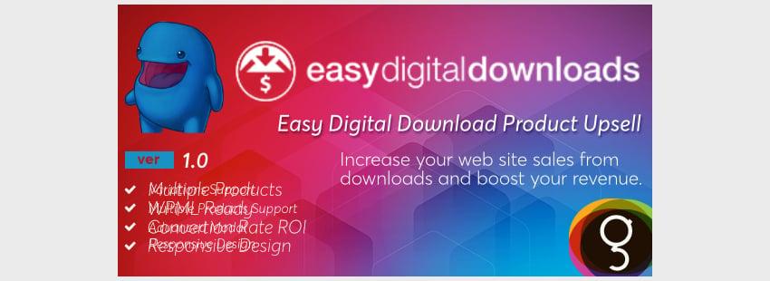 Easy Digital Downloads Product Upsells