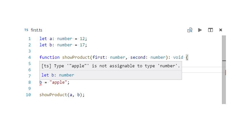 type error in TypeScript