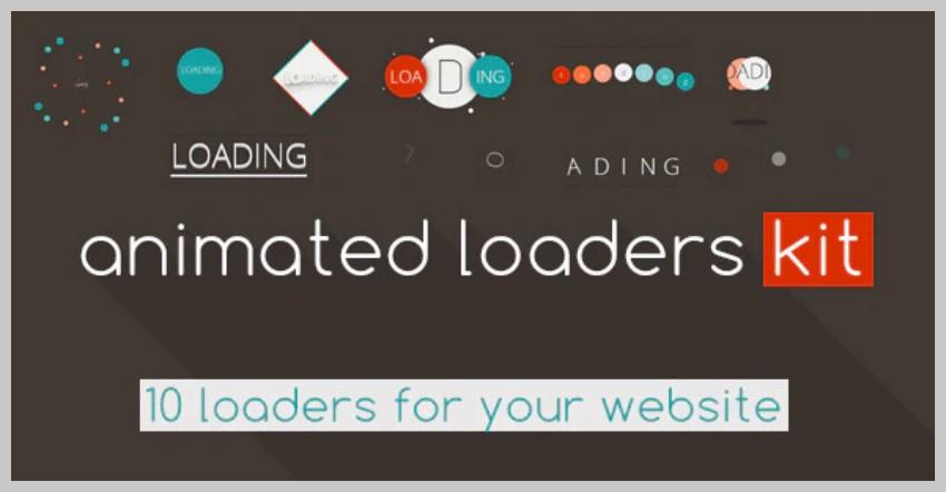 Animated Loaders Kit