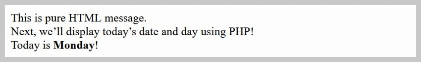PHP Day Include