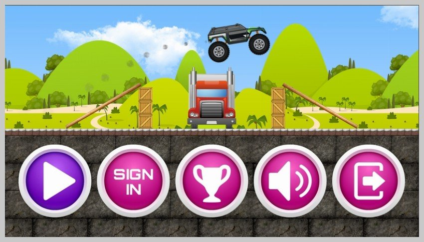 Monster Truck Game Template