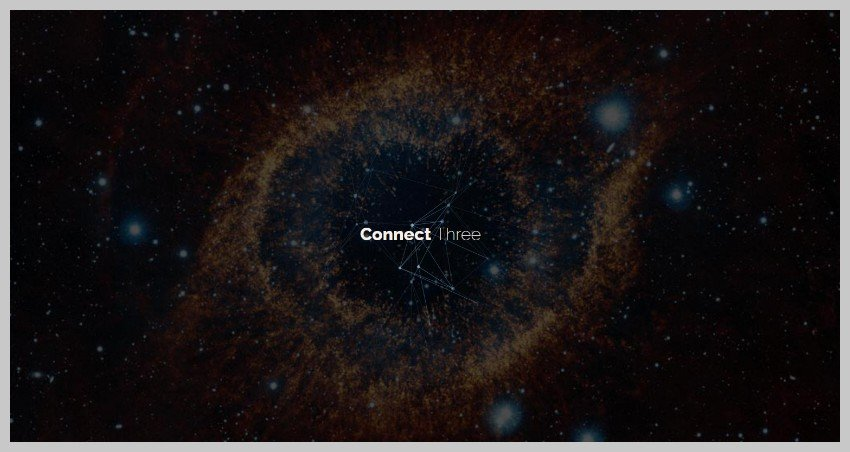 Animated Particle Background