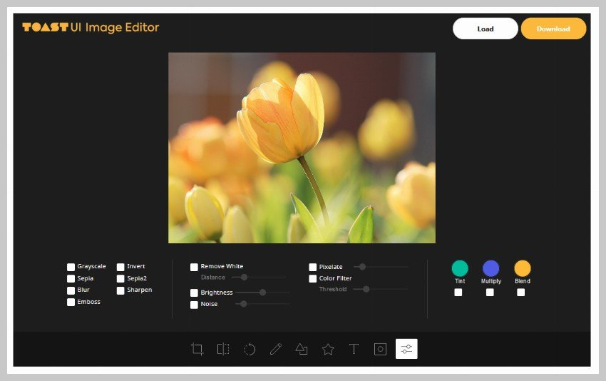Toast UI Image Editor