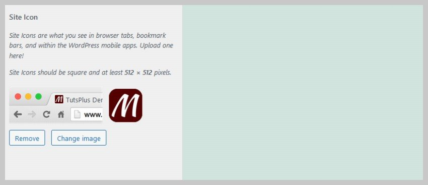 WordPress Default Theme Changed Favicon