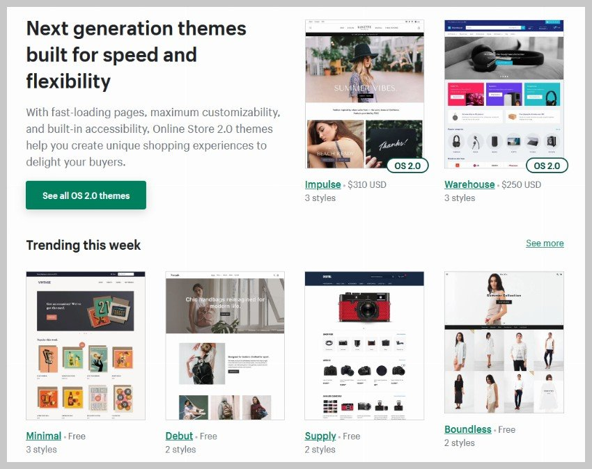 Shopify Themes - WordPress vs Shopify: Which is Better?