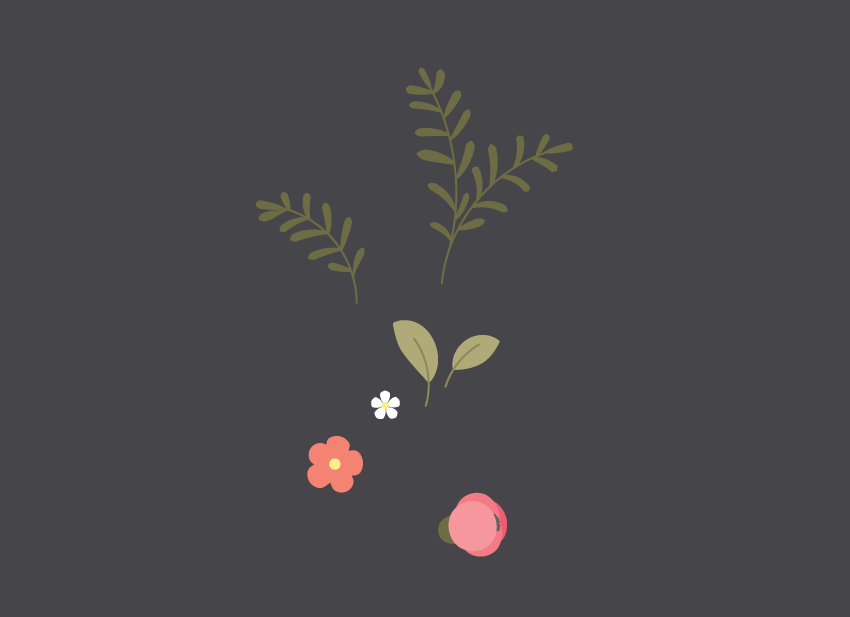 all floral elements