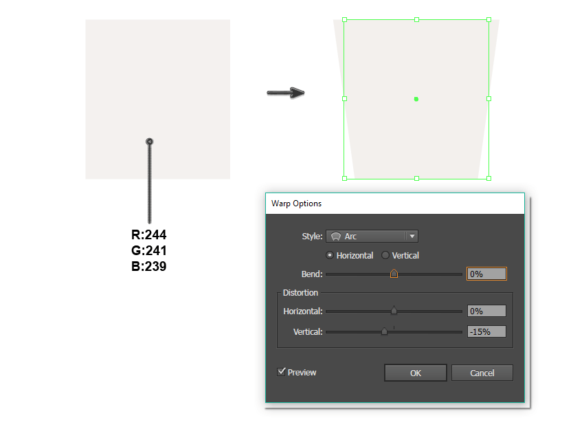 creating the base shape of the bucket