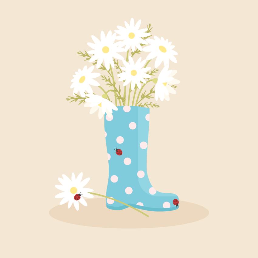 Rain Boot Vector Illustration Adobe Illustrator Tutorial