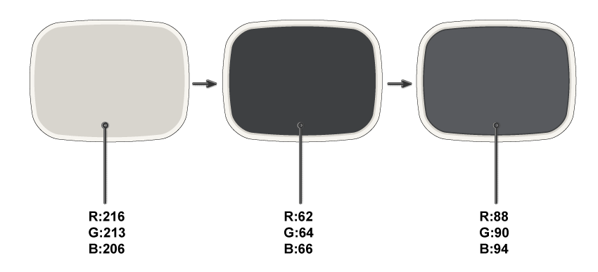 creating the TV shape 2