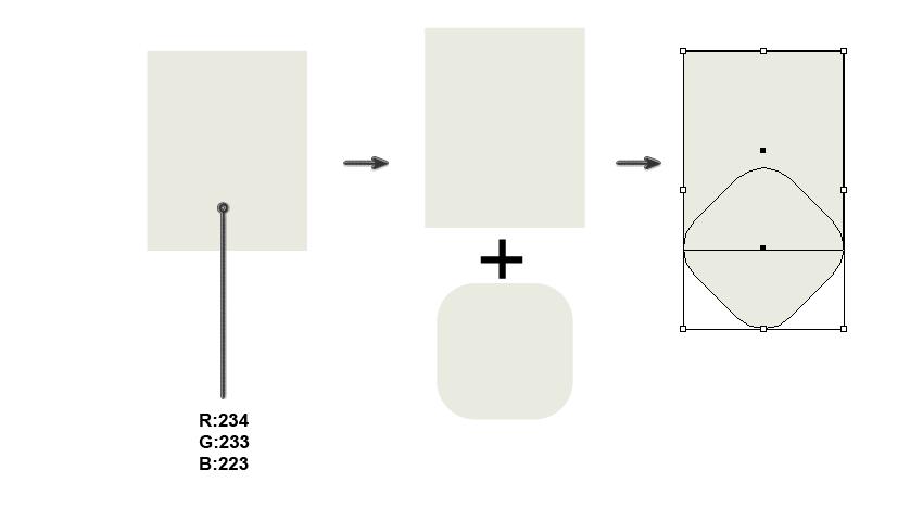 creating the basic mitten