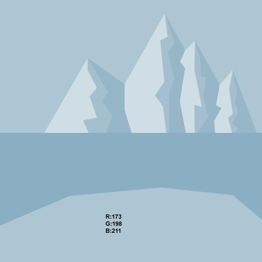 creating the glacier