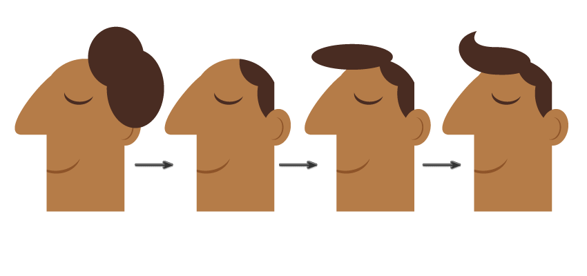 how to create the hairstyle